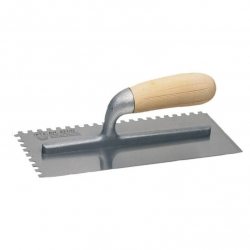 Trowel Notched 8 X 8 Wooden Handle