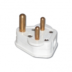 Plug 3 Pin Plug Top - Nylon