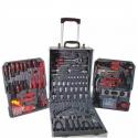 """Tool Set 186Pc in Aluminium Case 1/2"""" & 1/4"""""""