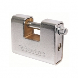 Lock Insurance Steel Cover Brass