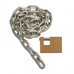 Insurance Lock with Chain
