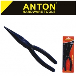Plier Long Nose Black Anton 150mm