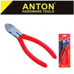 Diagonal Plier Std. Red 150mm Anton