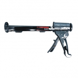 Caulking Gun Black Chrome Heavy Duty