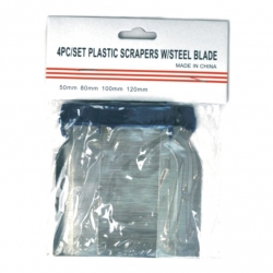 Scraper Spatchel Set 4Pce