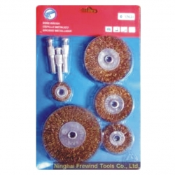 Wire Brush Flat Set 5Pce