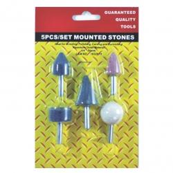 Stone Set Mounted 5Pce