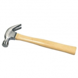 Hammer Claw Wooden Handle 480Gr