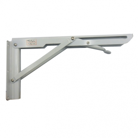 Bracket Folding 450mm White