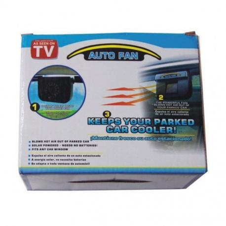 Fan Auto Solar Heat Extractor Fan