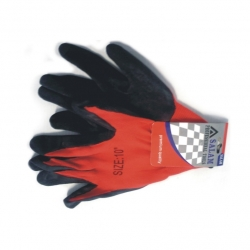Glove Rubber Coated H/D