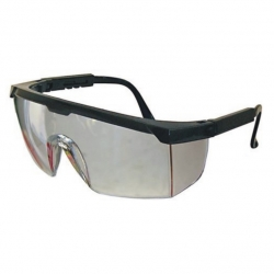 Clear Spectacle With Black Frame
