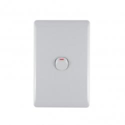 Switch 1 Level Light Switch & Plate - Aokelan