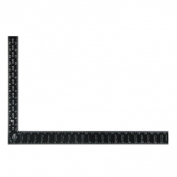 Square Rafter 600X400 Black