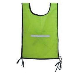 Safety Reflective Bib Jacket Lime