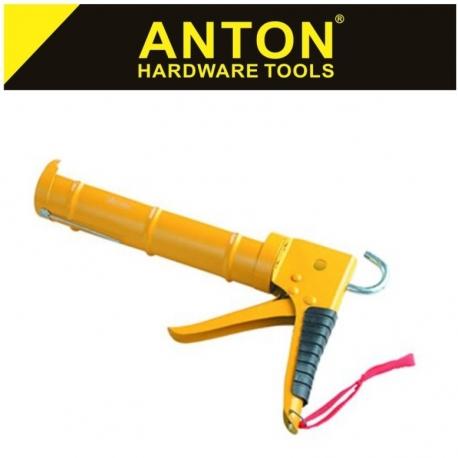 Caulking Gun Half Barrel Red Anton