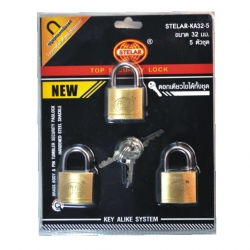 Lock Padlock K/A 3 x 32mm