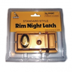 Latch Night Latch Bird Carded