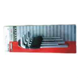 Allen Key Set Extra Long Metric