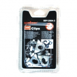 Wire Rope Clamp 2Pce